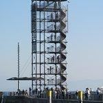 Aussichtsturm im Hafen von FN