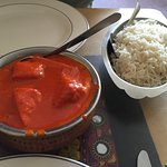 Butter chicken, yum!