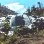 Uma das cachoeiras deste lugar encantador