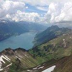 Looking down on Lake Brienz
