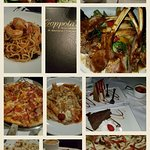 Some of the items we had from the Dinner Menu