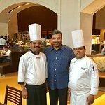 With Chef Narasimulu & Chef Mukesh