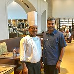 With Chef Narasimulu
