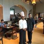 With Chef Srikanth