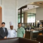 With Tomar and Chef Srikanth