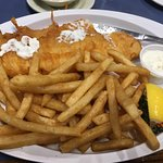 Whitefish and chips