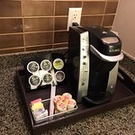 Room 306 (Handicapped Suite) - coffee station