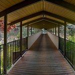 Covered Bridge over Deschutes River