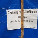 Swimming Pool out of order