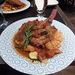 Rabbit stifado