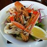 A seafood starter.