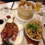 Duck, soup dumplings and yellowfish
