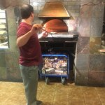 Wood fired brick oven 700 - 1,000 degrees
