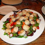 The local Scallops were sensational!