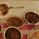 Un diner au restaurant Kamasutra. Le vin est un Tarapacá