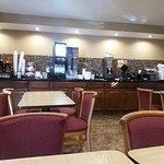 Hotel e recepção e café da manhã