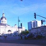 Marktplatz neben der City Hall von Kingston