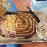 Waveriders, Nags Head, NC - Reuben $8.50 with potato salad side