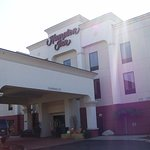 The Exterior and Front Entrance of the Hotel.