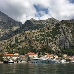 Kotor entrance from the water