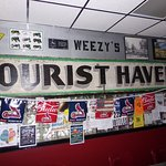Honoring Tourist Haven at Weezy's Route 66 Bar and Grill