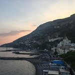 Sunset in Amalfi