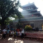Lady Buddha Temple which attracts over 1 million local pilgrims a year to pay homage.