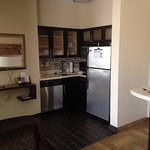 Kitchen area, 1-room suite