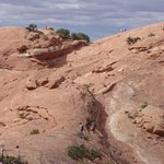Trail for Upheaval Dome