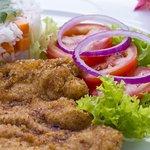 Cuando nos visites pregunta por nuestro menú vegetariano, todos los días una opción saludable.