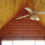 ceiling fan upstairs