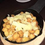 Parmesan truffle tots were awesome!!