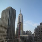 Empire State Bldg from our window