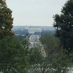 View of Lincoln Memorial from ANC
