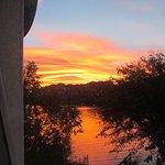 Sunrise from the Seabank B&B