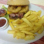 Our top selling burger is the Coogee burger