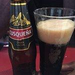 Cusqueña (bière noire péruvienne)