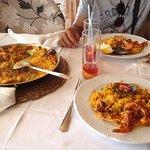 Paella mixte pour deux personnes