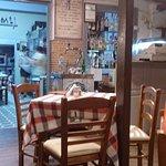 Salle du restaurant à l'intérieur