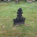 Cast Iron Gravestone