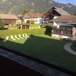 vue de notre balcon