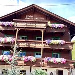 Beautiful Front of the Chalet