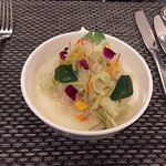 ORKNEY SCALLOP CEVICHE, Fennel & wasabi
