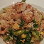 Shrimp and Scallop Riscotto