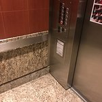 elevator with sensor to access the 10th and 11th floors