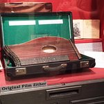 Zither that was played throughout the film