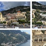 Trip to Positano, Amalie and Ravello