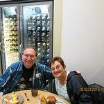 Homeward bound but a last supper at Rhubarb Food Design Heathrow airport