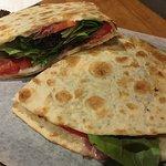 Delicious new menu items at Tomaso. Potato pizza, piadina flatbread, Sicilian style personal piz