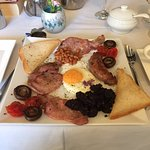THAT breakfast - lovingly prepared...